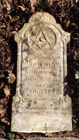 BROWNING, RICHARD - Clark County, Arkansas | RICHARD BROWNING - Arkansas Gravestone Photos