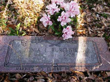 BURCHFIELD, ZONIA L - Clark County, Arkansas | ZONIA L BURCHFIELD - Arkansas Gravestone Photos