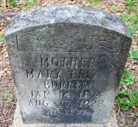 BURROW, MARY ELIZA - Clark County, Arkansas | MARY ELIZA BURROW - Arkansas Gravestone Photos