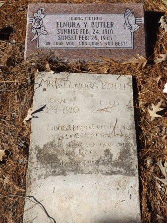 BUTLER, ELNORA Y - Clark County, Arkansas | ELNORA Y BUTLER - Arkansas Gravestone Photos