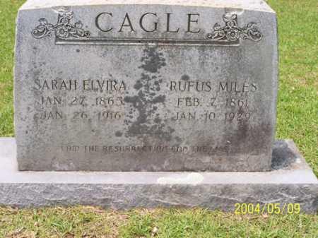 FRANCIS CAGLE, SARAH ELVIRA - Clark County, Arkansas | SARAH ELVIRA FRANCIS CAGLE - Arkansas Gravestone Photos