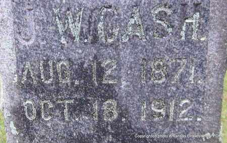CASH, J W (CLOSE UP) - Clark County, Arkansas | J W (CLOSE UP) CASH - Arkansas Gravestone Photos