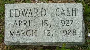 CASH, EDWARD - Clark County, Arkansas | EDWARD CASH - Arkansas Gravestone Photos
