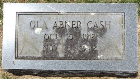 CASH, OLA - Clark County, Arkansas | OLA CASH - Arkansas Gravestone Photos