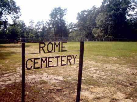 *ROME CEMETERY, SIGN - Clark County, Arkansas | SIGN *ROME CEMETERY - Arkansas Gravestone Photos