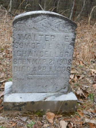CHANCELLOR, WALTER E. - Clark County, Arkansas   WALTER E. CHANCELLOR - Arkansas Gravestone Photos