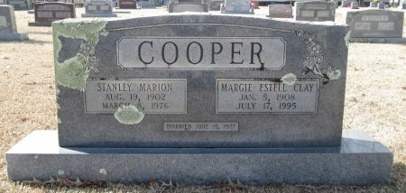 CLAY COOPER, MARGIE ESTELL - Clark County, Arkansas | MARGIE ESTELL CLAY COOPER - Arkansas Gravestone Photos