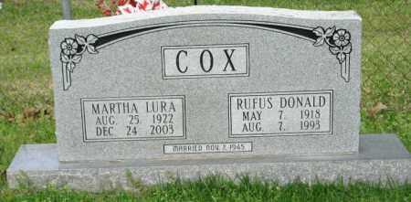 COX, RUFUS DONALD - Clark County, Arkansas   RUFUS DONALD COX - Arkansas Gravestone Photos