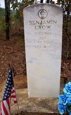 CROW (VETERAN RW), BENJAMIN - Clark County, Arkansas | BENJAMIN CROW (VETERAN RW) - Arkansas Gravestone Photos