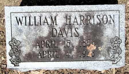 DAVIS, WILLIAM HARRISON - Clark County, Arkansas   WILLIAM HARRISON DAVIS - Arkansas Gravestone Photos