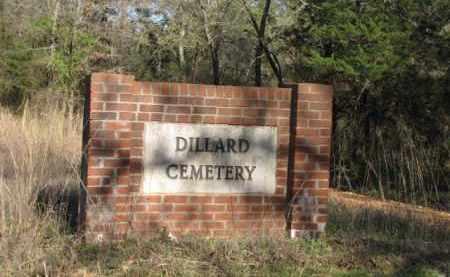 *DILLARD CEMETERY, SIGN - Clark County, Arkansas | SIGN *DILLARD CEMETERY - Arkansas Gravestone Photos