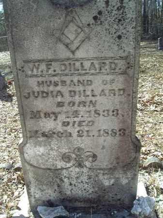 DILLARD, WILLIAM FRANK (CLOSE UP) - Clark County, Arkansas   WILLIAM FRANK (CLOSE UP) DILLARD - Arkansas Gravestone Photos
