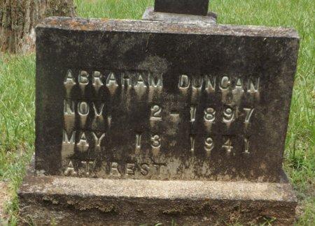 DUNCAN, ABRAHAM - Clark County, Arkansas | ABRAHAM DUNCAN - Arkansas Gravestone Photos