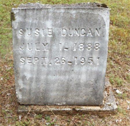DUNCAN, SUSIE - Clark County, Arkansas   SUSIE DUNCAN - Arkansas Gravestone Photos