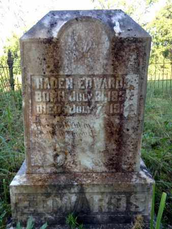 EDWARDS, HADEN - Clark County, Arkansas | HADEN EDWARDS - Arkansas Gravestone Photos