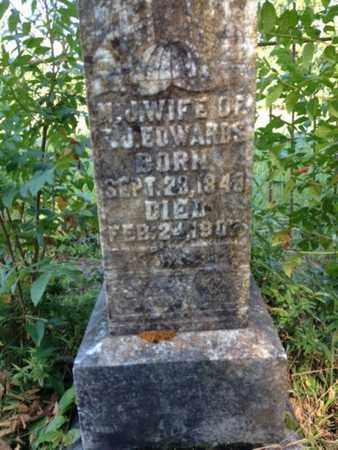 EDWARDS, N J - Clark County, Arkansas | N J EDWARDS - Arkansas Gravestone Photos