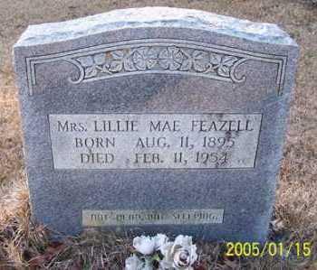 FEAZELL, LILLIE MAE - Clark County, Arkansas   LILLIE MAE FEAZELL - Arkansas Gravestone Photos