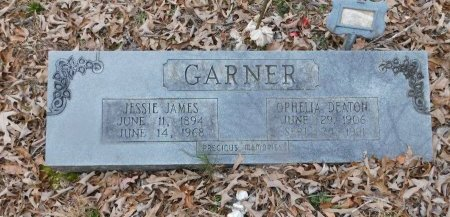 GARNER, JESSIE JAMES - Clark County, Arkansas | JESSIE JAMES GARNER - Arkansas Gravestone Photos