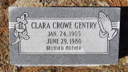 CROWE GENTRY, CLARA - Clark County, Arkansas | CLARA CROWE GENTRY - Arkansas Gravestone Photos