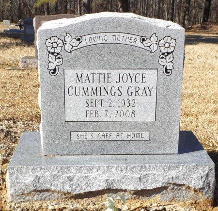 CUMMINGS GRAY, MATTIE JOYCE - Clark County, Arkansas   MATTIE JOYCE CUMMINGS GRAY - Arkansas Gravestone Photos
