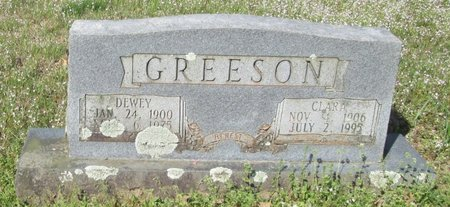 GREESON, DEWEY - Clark County, Arkansas | DEWEY GREESON - Arkansas Gravestone Photos