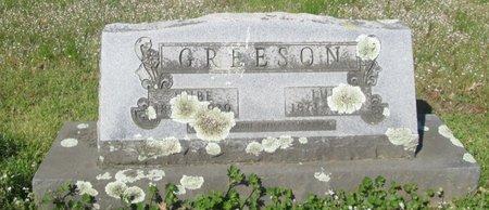 GREESON, HUBE - Clark County, Arkansas | HUBE GREESON - Arkansas Gravestone Photos