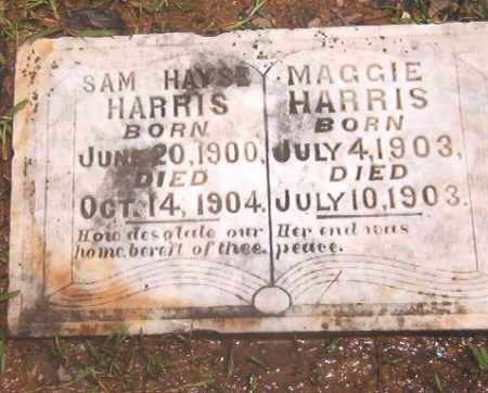 HARRIS, SAM HAYSE - Clark County, Arkansas   SAM HAYSE HARRIS - Arkansas Gravestone Photos