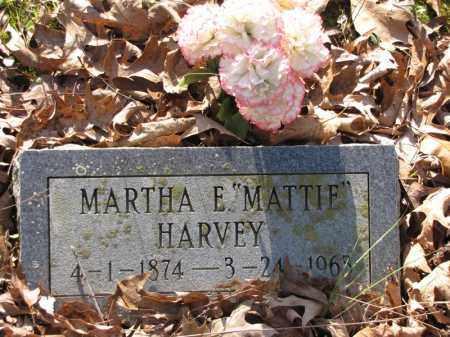 "HARVEY, MARTHA E. ""MATTIE"" - Clark County, Arkansas | MARTHA E. ""MATTIE"" HARVEY - Arkansas Gravestone Photos"