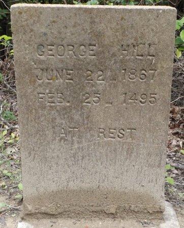 HILL, GEORGE - Clark County, Arkansas | GEORGE HILL - Arkansas Gravestone Photos