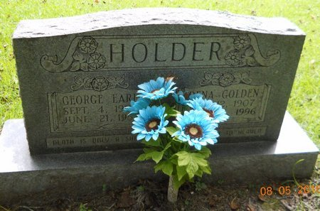 HOLDER, GEORGE EARL - Clark County, Arkansas | GEORGE EARL HOLDER - Arkansas Gravestone Photos