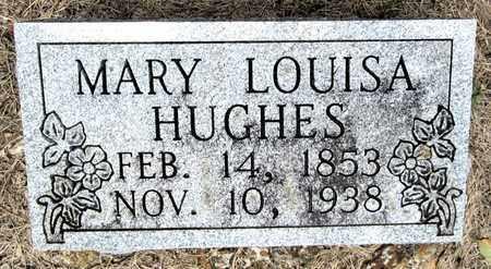 HUGHES, MARY LOUISA - Clark County, Arkansas | MARY LOUISA HUGHES - Arkansas Gravestone Photos