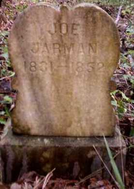 JARMAN, JOE - Clark County, Arkansas   JOE JARMAN - Arkansas Gravestone Photos