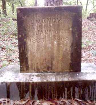 JARMAN, NANCY - Clark County, Arkansas | NANCY JARMAN - Arkansas Gravestone Photos