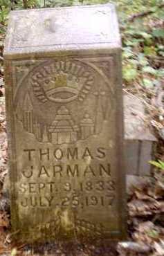 JARMAN, THOMAS - Clark County, Arkansas | THOMAS JARMAN - Arkansas Gravestone Photos