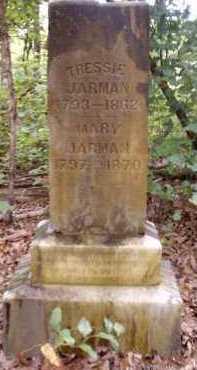 JARMAN, TRESSIE - Clark County, Arkansas | TRESSIE JARMAN - Arkansas Gravestone Photos