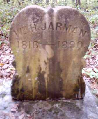 JARMAN, WILLIAM H - Clark County, Arkansas | WILLIAM H JARMAN - Arkansas Gravestone Photos