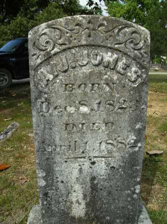 JONES, A J - Clark County, Arkansas | A J JONES - Arkansas Gravestone Photos