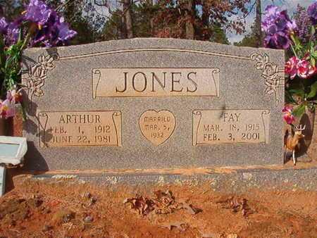 JONES, FAY - Clark County, Arkansas   FAY JONES - Arkansas Gravestone Photos