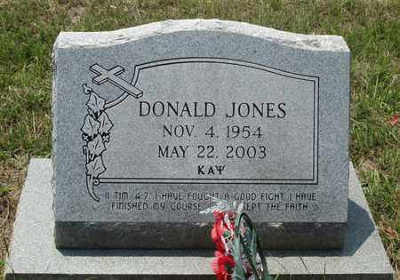 JONES, DONALD - Clark County, Arkansas | DONALD JONES - Arkansas Gravestone Photos