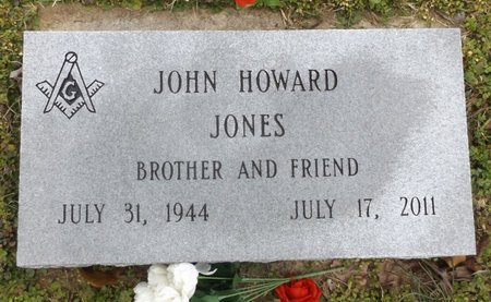 JONES, JOHN HOWARD - Clark County, Arkansas | JOHN HOWARD JONES - Arkansas Gravestone Photos