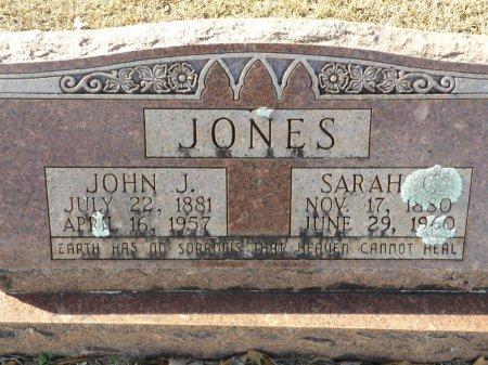JONES, JOHN J - Clark County, Arkansas | JOHN J JONES - Arkansas Gravestone Photos