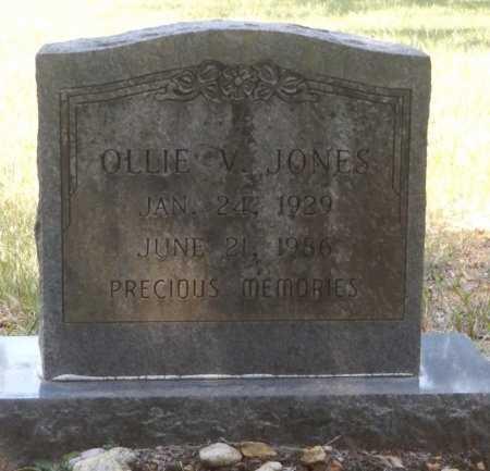JONES, OLLIE V. - Clark County, Arkansas | OLLIE V. JONES - Arkansas Gravestone Photos