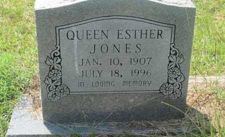 JONES, QUEEN ESTHER - Clark County, Arkansas | QUEEN ESTHER JONES - Arkansas Gravestone Photos