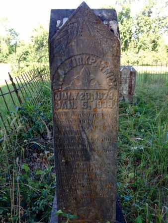 KIRKPATRICK, W A - Clark County, Arkansas | W A KIRKPATRICK - Arkansas Gravestone Photos