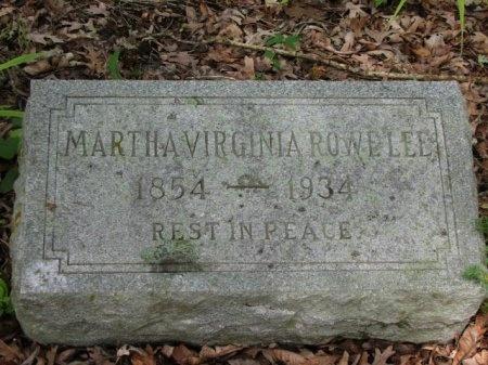 LEE, MARTHA VIRGINIA - Clark County, Arkansas | MARTHA VIRGINIA LEE - Arkansas Gravestone Photos