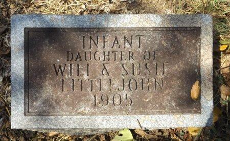 LITTLEJOHN, INFANT DAUGHTER - Clark County, Arkansas   INFANT DAUGHTER LITTLEJOHN - Arkansas Gravestone Photos