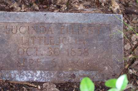 LITTLEJOHN, LUCINDA ELLIOTT - Clark County, Arkansas | LUCINDA ELLIOTT LITTLEJOHN - Arkansas Gravestone Photos