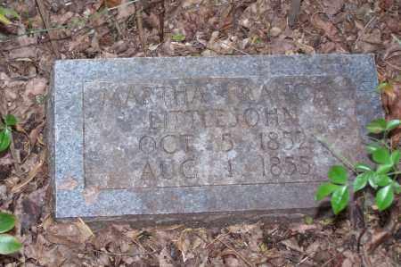 LITTLEJOHN, MARTHA FRANCES - Clark County, Arkansas   MARTHA FRANCES LITTLEJOHN - Arkansas Gravestone Photos