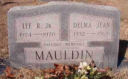MAULDIN, JR, LEE R - Clark County, Arkansas | LEE R MAULDIN, JR - Arkansas Gravestone Photos