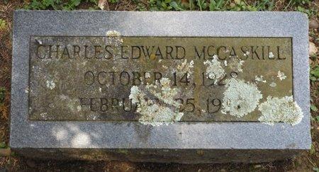 MCCASKILL, CHARLES EDWARD - Clark County, Arkansas | CHARLES EDWARD MCCASKILL - Arkansas Gravestone Photos